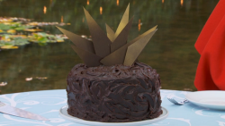 Paul Hollywood devil's food cake on The Great Celebrity Bake Off Stand Up to Cancer