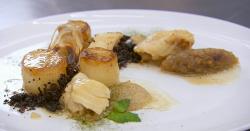 Alex's Portuguese salt cod (Bacalhau) with onions dish on Masterchef 2018