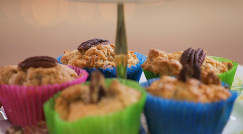 Alan Carr's Pecan Muffins on The Great Celebrity Bake Off Stand Up to Cancer.