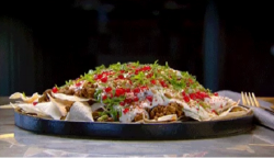 Nigella Lawson's Beef and Eggplant Fatteh on MasterChef Australia 2018
