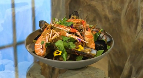 Carl Clarke Viet-Cajun gumbo on Saturday Kitchen
