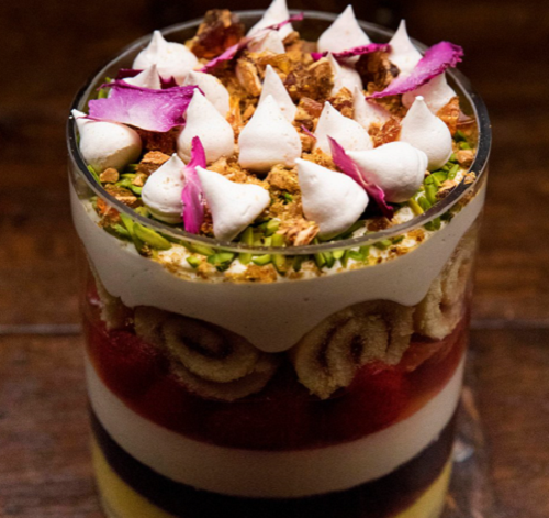 Nigella Lawson's trifle with tonka beans on MasterChef Australia 2018