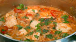 Tilly's Sardinia fish stew on Matilda and the Ramsay Bunch