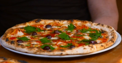 Anthony Costa's Sourdough pizza on Get A Holiday Body