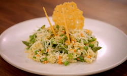 Spring vegetable risotto (risotto primavera) by Dan Doherty on Britain's Best Home Cook