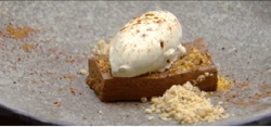 Jessica Liemantara chocolate and coffee semifreddo on MasterChef Australia 2018