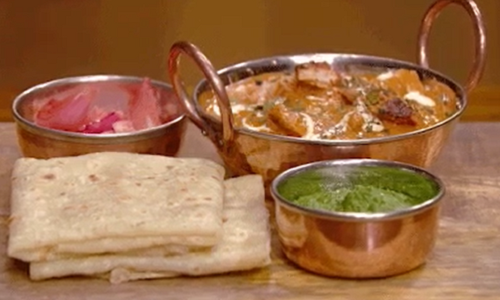 Saransh Goila butter chicken curry recipe on MasterChef Australia 2018