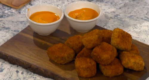 Rebecca Seal's guinea fowl nuggets on Sunday Brunch