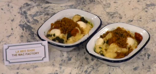 Pritesh Mody's Italian inspired mac n cheese on Sunday Brunch