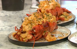 Pritesh Mody's lobster  Mac n cheeses on Sunday Brunch