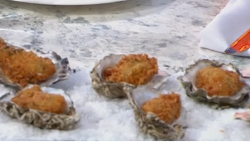 Rebecca Seal's oyster nuggets on Sunday Brunch