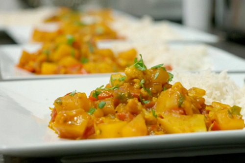 Michelle and Gary's butternut squash curry on Eat Well for Less?