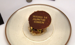 Danny Parker auntie Gwen's chocolate dessert on Great British Menu