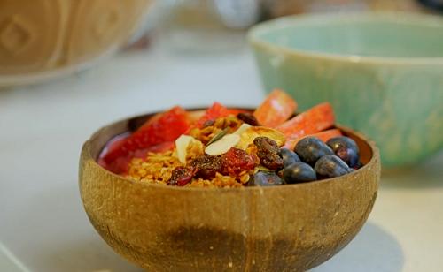 Pamela Higgins homemade granola  on Nadiya's Family Favourites