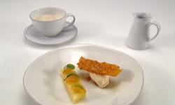 Selin Kiazim moment of peace dessert on Great British Menu