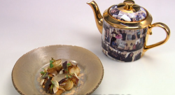 Danny Parker's My NHS: North Teas with pickled turnips starter on Great British Menu