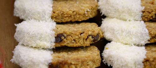 Imelda's cherry and white chocolate oatmeal biscuits on the Great British Bakeoff 2018