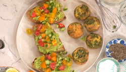 Jaden's avocado on toast with salsa from Gordon Ramsay's Little Chefs on This Morning