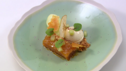 Jude's an apple a day dessert on Great British Menu