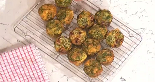 Frazier and Kayla's breakfast muffins from Gordon Ramsay's Little Chefs on This Morning