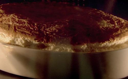 Raymond Blanc Comte cheese souffle on Saturday Kitchen