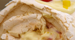 Dan's Florida roulade on the Great British Bake Off