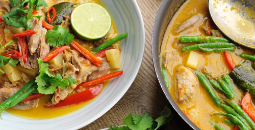 Simon Rimmer Red Thai Duck Curry on Sunday Brunch