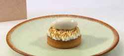 Tom Brown's Invalid Fruit Tart with pears and ginger on Great British Menu