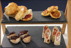 John Partridge's chocolate, coconut and lime macaroons on Celebrity Mastercgef 2018