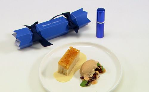 Craig Sherrington's The Missed Celebration dessert on Great British Menu