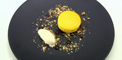 Liam's Not So Hot Toddy dessert on Great British Menu