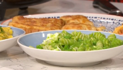Phil Vickery's student survival guide pasta with green peas on This morning