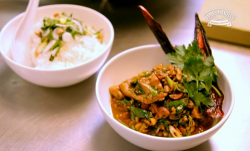 Clare Smyth Charred Chilli Chicken with Jasmine Rice on James Martin's Saturday Morning