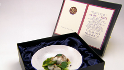 Tommy Heaney Franklin's Find: DNA fish course on Great British Menu
