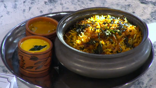Dhruv Mittal awadhi lamb biryani on Sunday Brunch