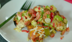 Poppy's sweet potato nachos on Eat Well for Less?