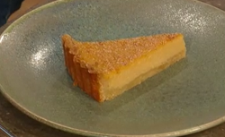 Matt Tebbutt's pumpkin pie with amaretto on Saturday Kitchen
