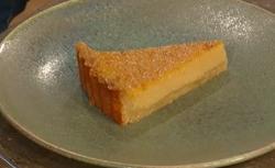 Matt Tebbutt's pumpkin pie with amaretto on Saturday Kitchen
