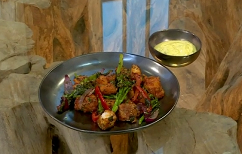 Vivek Singh stir fried Haddock kempu on Saturday Kitchen