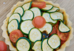 Manon's summer vegan tartlet on the Great British bake Off 2018