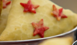 Ruby's traditional samosas on the Great British Bake Off 2018