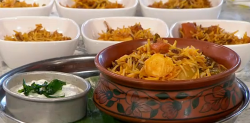 Dhruv Mittal Bombay vegetarian biryani on Sunday Brunch
