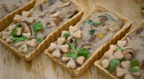 Manon's winter tartlets for vegans on the Great British Bake Off