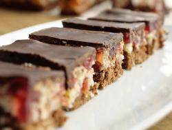 Simon Rimmer's Cherry Chocolate Bars on Sunday Brunch
