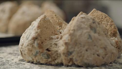 Liam Charles soda bread on Liam Bakes