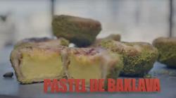 Liam Charles pastel de baklava (Portuguese custard Tart) on Liam Bake