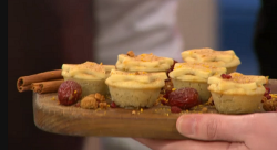Adria Wu superfoods mince pies on Sunday Brunch