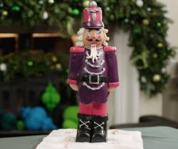 Victoria's nutcracker Prince cake on on Kirstie's Handmade Christmas