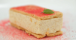 Lawrence's peanut butter and strawberry jam sandwich dessert on Masterchef The Professiona ...