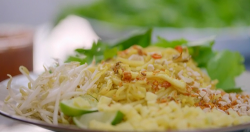 Nadiya Hussain squid pad Thai on Nadiya's Asian Odyssey